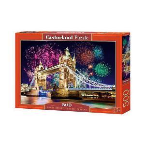 Пазл  Тауэрский мост, Англия 500 деталей Castorland