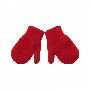 Варежки для девочки Wojcik. Цвет: красный