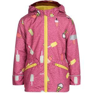 Демисезонная куртка JICCO BY OLDOS Леди. Цвет: розовый