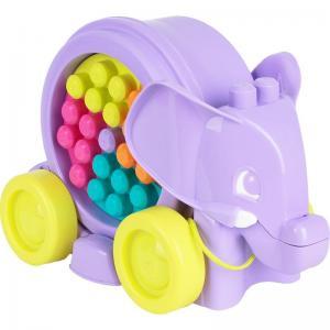 Конструктор  Неуклюжий слон цвет: фиолетовый, 25 дет. Mega Bloks