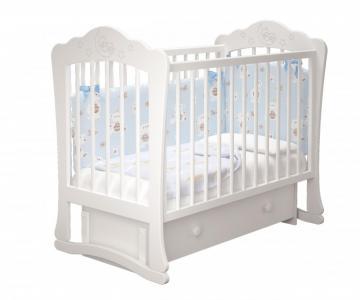 Детская кроватка  Амалия-3 универсальный маятник Милано Можгинский лесокомбинат