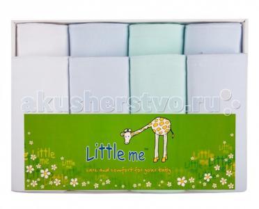 Пеленка  Комплект из 4-х теплых и тонких пеленок Little me