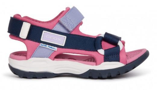 Туфли летние открытые J Borealis Girl Geox