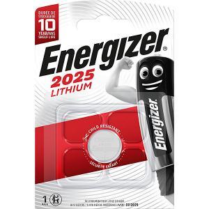 Батарейки литиевая  Lithium, тип CR2025, 3V, 2 шт Energizer