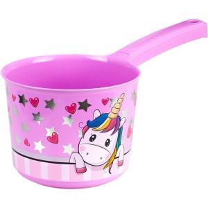 Ковшик  для ванной «Единорог» с ручкой, 1.5 л М-Пластика