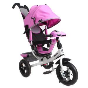Трехколесный велосипед  Comfort 12x10 AIR Car 2, цвет: лиловый Moby Kids