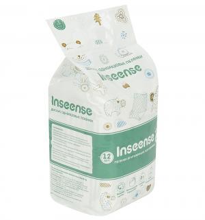 Пеленки  впитывающие 60х40 см, 12 шт Inseense