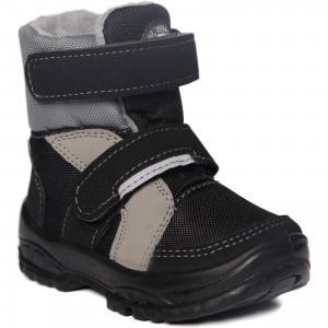 Утепленные ботинки Alaska Originale. Цвет: черный