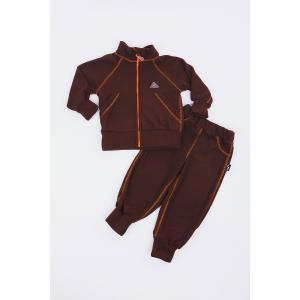 Спортивный костюм  Шоколад ЛисФлис. Цвет: коричневый