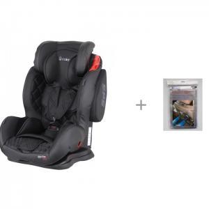 Автокресло  Sportivo Only Isofix и защита сиденья Невидимка АвтоБра Coletto