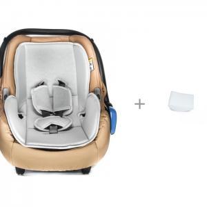 Автокресло  переноска и АвтоБра Вкладыш для новорожденного в детское Lepre