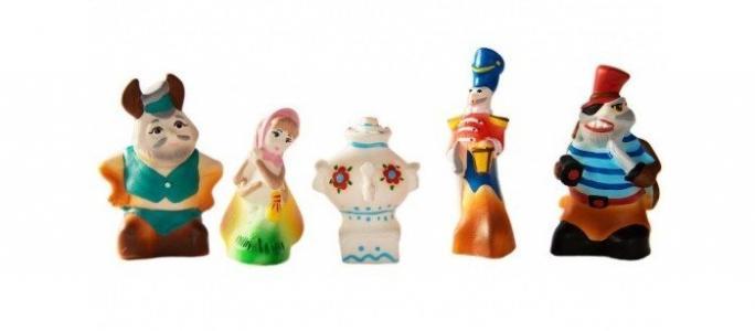 Игрушки Муха-цокотуха (5 персонажей) Кудесники
