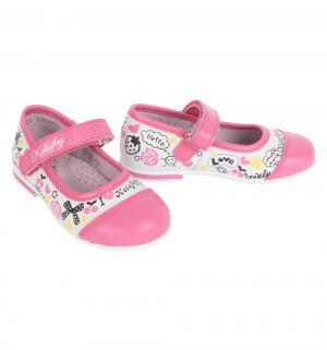 Туфли , цвет: розовый Котофей