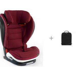 Автокресло  iZi Flex Fix i-Size и Munchkin Brica защитный коврик на спинку передних автомобильных сидений BeSafe