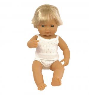 Кукла  Мальчик европеец 38 см Miniland