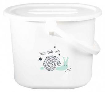 Ведро для наполнения, слива ванночки и использованных подгузников Bebe Jou