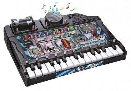 Набор Tronex: 38 музыкальных экспериментов с пианино. Электронный конструктор 32038 Amazing