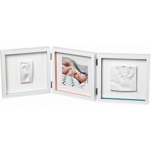 Рамочка тройная  Baby Style Art. Цвет: белый