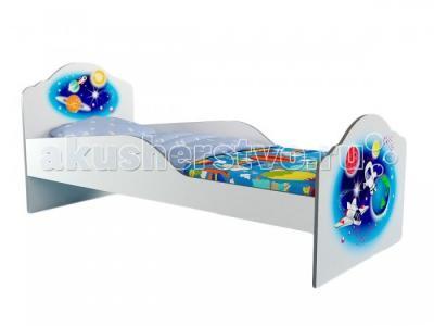 Подростковая кровать  Elegance базовая 180х80 см Grifon Style