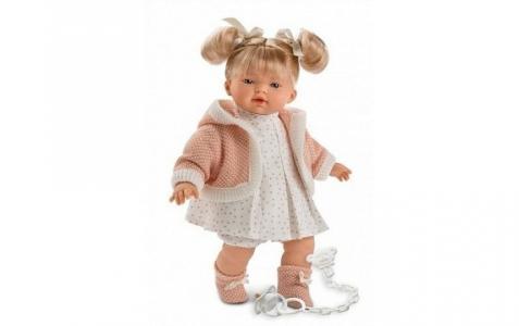 Кукла Роберта 33 см со звуком Llorens