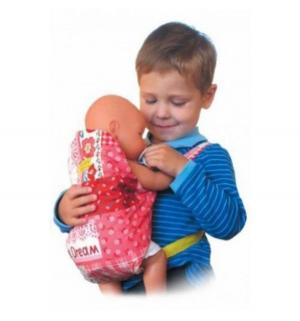 Рюкзачок  Кенгуру для куклы сиреневый Спортбэби
