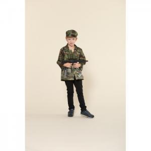 Игровой костюм военного с автоматом Teplokid