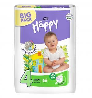 Подгузники  Baby Happy Maxi 4 (8-18 кг) 66 шт. Bella
