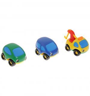 Машинка  желтая синяя зеленая Smoby