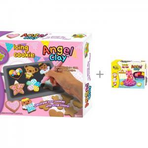 Игровой набор массы для лепки Icing Cookies с массой Lovely my cat Angel Clay