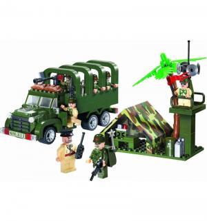 Конструктор  Военный грузовик (308 дет) Brick