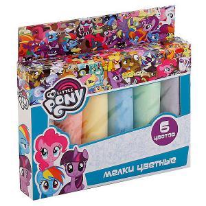 Мелки цветные  Моя маленькая пони, 6 цветов Multiart