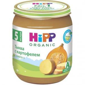 Пюре  тыква-картофель с 5 месяцев, 125 г Hipp