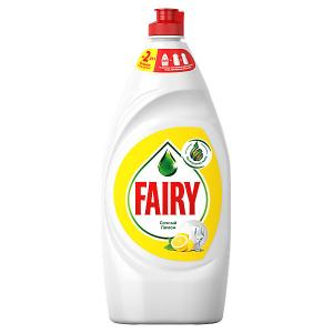 Средство для мытья посуды  Сочный лимон 900 мл Fairy. Цвет: weiß/beige