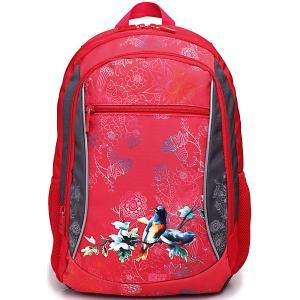 Рюкзак  Линия School, красно-серый 4ALL. Цвет: красный
