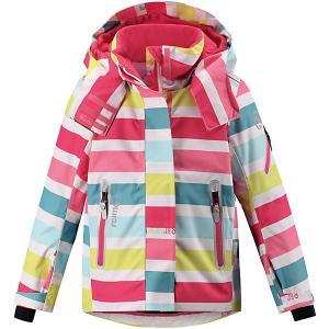 Куртка Roxana  для девочки Reima. Цвет: белый