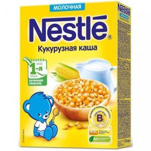 Каша  молочная Кукурузная Моя 1-ая Каша.Начинаем прикорм с 5 месяцев 220 г Nestle