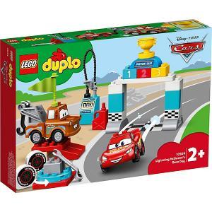 Конструктор  DUPLO Cars 10924: Гонки Молнии МакКуина LEGO