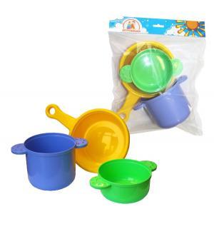 Игровой набор посуды  для повара Плэйдорадо
