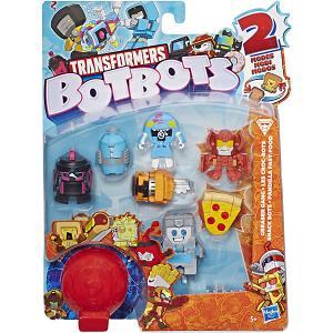 Игровой набор 8 трансформеров Ботботс Hasbro