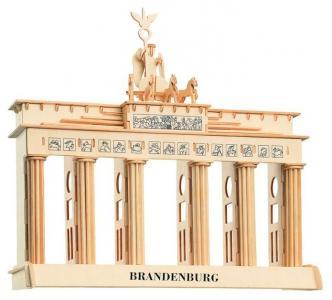Сборная деревянная модель  Бранденбургские ворота Wooden Toys