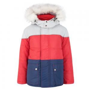 Куртка  Троя, цвет: красный/синий Ursindo