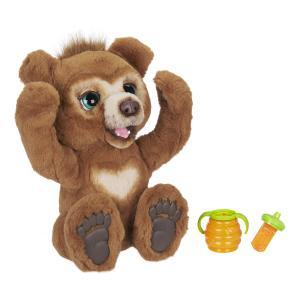 Интерактивная мягкая игрушка  Русский Мишка цвет: коричневый FurReal Friends