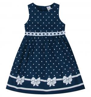 Платье , цвет: синий Малинка