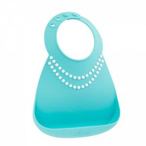 Нагрудник  Baby Bib Tiffany Blue Pearls Make my day