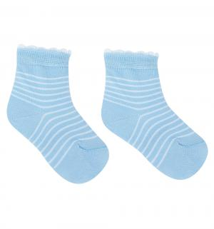 Носки , цвет: голубой Fenice