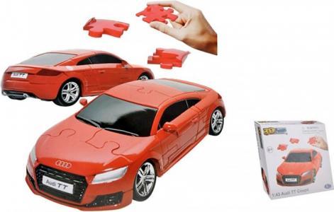 Конструктор  Audi TT Coupe 3D Puzzle Non Assemble 1:43 Happy Well