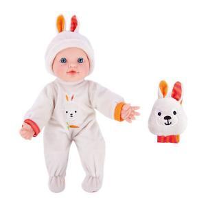 Кукла-пупс с игрушкой зайкой  Моя первая кукла, 30 см (звук) Mary Poppins