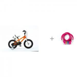 Велосипед двухколесный  Freestyle Steel 14 и Велозамок кодовый KS Puky Royal Baby
