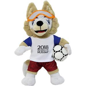 Мягкая игрушка FIFA-2018  Волк Забивалка, 28 см 1Toy. Цвет: разноцветный