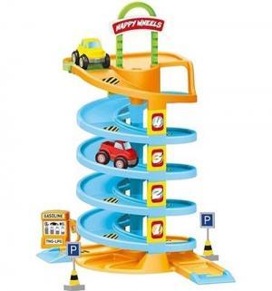 Игровой набор  Спиральная дорога с машинками Dolu